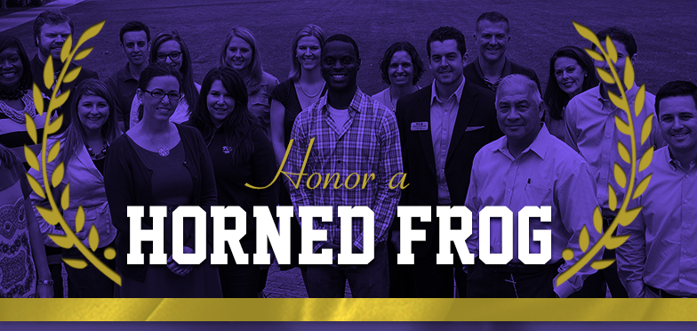 Honor a Horned Frog Image