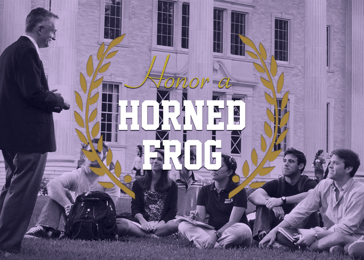 Honor a Horned Frog