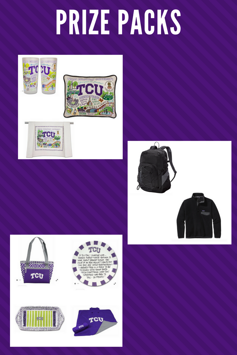 Honor a Horned Frog Prize Packs
