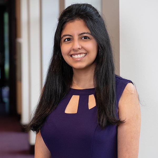 TCU Clark Society Scholar, Shriya Sachdeva