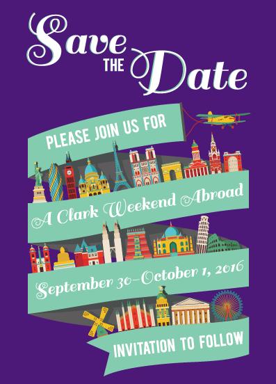 2015 Clark Weekend