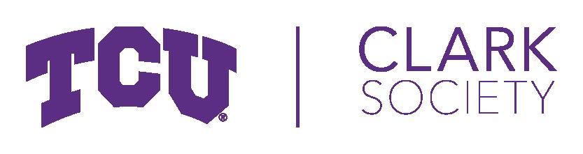 TCU and Clark Society Logo