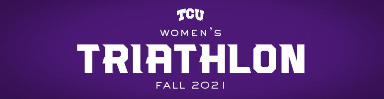 TCU Women's Triathlon