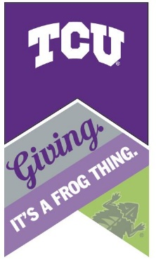 Giving: It's a Frog Thing